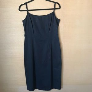 Vintage Moschino Jeans Rhinestone Dress - 12